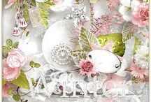 Iced roses / http://shop.scrapbookgraphics.com/Iced-roses.html