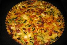 Quiches. Egg dishes