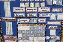class calendar board