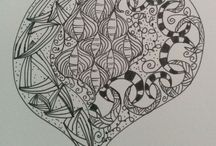 My zen tangle