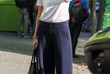 Pantalone culotte