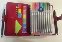 PLANNERS / This board is all about Filofax. How to decorate and organize them