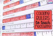 Education - numeracy - measurement / by Danielle Ey