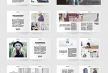 square magazine layout