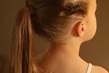 Girls hairstyles / by Sarah Atkinson
