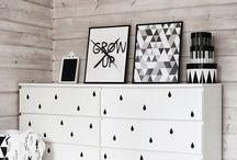 Decoration ~ Cómodas ~ Dresser / La #cómoda, uno de los muebles favoritos de la #decoración de interiores. #Chest of Drawers, #dresser, the favourite furniture in interiors design