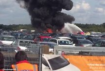 Osama Bin Laden's Stepmother And Sister Among 4 Killed After Their Private Jet Crashed Into A Car Auction