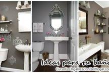 Ideas para decorar y organizar tu baño