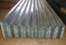 corrugated metal deco
