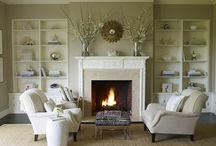 Fireplace / by Kat Hicks