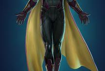 Marvel and Dc Superhero