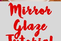 mirror glaze fondant