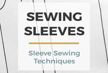 Sewing sleeves