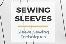 Sewing sleeves