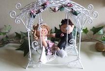 boda monitos sentados / by Maria Beatriz Ramirez Patiño