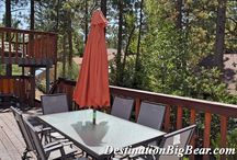 Cool Features in Big Bear Cabins / Take a look at some of the cool features in these homes - visit us in Big Bear Lake!  www.DestinationBigBear.com  909-752-0234
