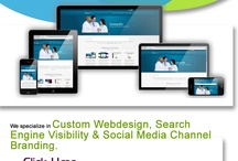 Search Visibility for Physicians / Better Search Engine Visibility for Medical Websites.  An attractive and easy-to-navigate website is only part of the design equation.  Getting found is another important part.  Our Search Engine Optimization team is well equipped to work with you on creating search-engine friendly sites, as well as putting together a targeted promotion plan, all done to help you and your site connect with the internet world.