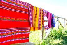 Mantos Peruanos / Mantos peruanos de estampado inca realizados de forma totalmente artesanal.