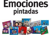 """Exposición """"Emociones pintadas"""" / Del 8 de mayo al 15 de junio en Hola Bonjour Madrid. Calle Luisa Fernanda 27, Madrid."""