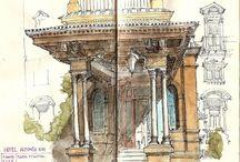 Architecture Sketches