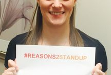 PRMA Stands Up 2 Cancer / #Reasons2StandUp to Cancer