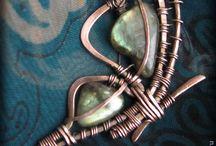 Smykker i metalltråd