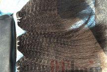 BF Yaki Straight Brazilian Virgin Human Hair