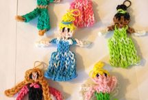 Loom Band Disney characters + Figurines / amazing Loom Band characters and Figurines