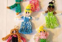 Loom Band Disney characters + Figurines / amazing Loom Band characters and Figurines  / by Loombands sa