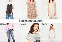 Zara / Zara collezione e catalogo primavera estate e autunno inverno abiti abbigliamento accessori scarpe borse sfilata donna.
