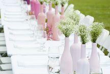 Ombre wedding details!