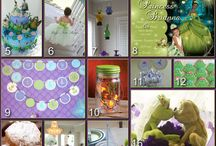 Party ideas: Princess & Frog