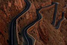 amazing roads / drive slowly
