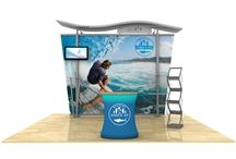 Timberline Hybrid Displays / Customize your booth to fit your trade show space with a Timberline hybrid display. / by DisplayStar