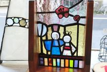 asian stained glass