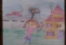 My kids / Digitaal portfolio van mooie dingen die mijn dochters hebben gemaakt en die een trotse moeder natuurlijk bewaart.
