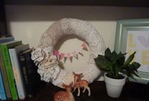Lace Wreaths