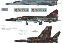 Soviet/Russian military aircraft