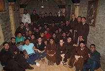 Fraternidad / Fotos diversas de los frailes de nuestra fraternidad en el Norte de México.