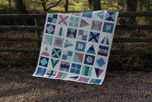 Nautical / Fabric collection designed by Makower UK.
