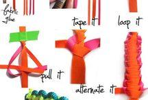 knutselen textiel
