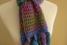 Crochet scarves / A collection of beautiful crocheted scarves. / by Libby Graham-Metz