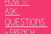 'n Vraag stellen in het Frans