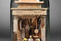 dioramas, shadowboxes and assemblages / by Suzanne Williams
