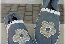 Zapatillas y bolsos