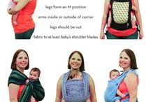 hold them close / baby wearing