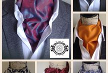 Lilly Dilly's Bespoke Handcrafted Cravats. / Made bespoke to specific requirements, your choice of colour, pattern, fabric type and design. Matching pocket squares also available.