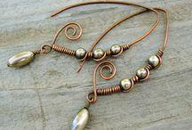 Gioielli fatti a mano / wire ring and wire wrap jewelry