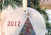 Ornaments by Carolyn Stich