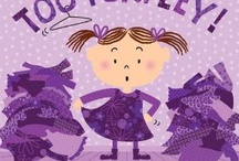 purplelty / purple is the color of royalty = purplelty / by Emily Abram